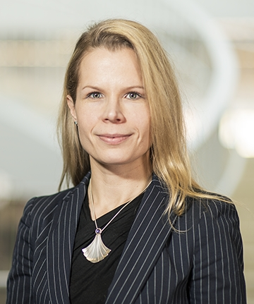 Photo of Elisabeth Holmqvist-Sipilä